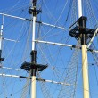 The masts — Stock Photo