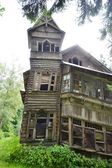 Old wooden house — Photo