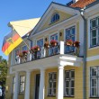 German embassy building in Old Town of Tallinn — Stock Photo