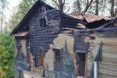 Burnt inn Slepushkina — Stock Photo