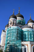 Alexander Newski Cathedral in Tallinn — ストック写真