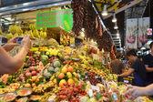 Food Market in Barcelona. — Stock Photo