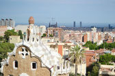 Widok na barcelonę — Zdjęcie stockowe