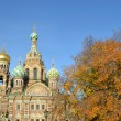Church of the Saviour on Spilled Blood. — Стоковая фотография