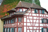 The old house in Lucerne — Foto Stock