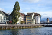 Luzern, zwitserland. — Stockfoto