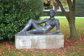 Statue in the park of Lucerne — ストック写真