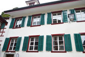 The old house in Lucerne — Stock Photo