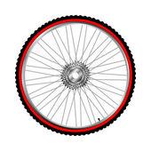 Bicycle wheel, vector — Stock Vector