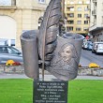 Постер, плакат: Monument to Nikolai Gogol in Vevey