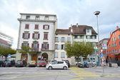 Strada a vevey, Svizzera — Foto Stock
