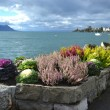 Embankment in Montreux — Stock Photo