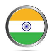 Flaga indii. — Wektor stockowy