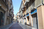 Street in Figueras, Catalonia — Stock Photo