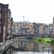 Houses over Onyar River in Girona. — Stock Photo #36991167