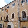 House in the medieval quarter of Girona — Stock Photo