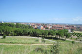 Summer landscape near Figueres — Stock Photo