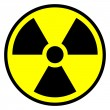 Radiation round sign — Stock Vector #37081893