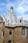 Fairy tale house in Park Guell — 图库照片