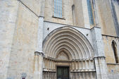 View of cathedral in Girona. — Stock Photo