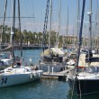 Yacht port in Barcelona — Stock Photo #37384815