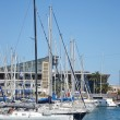 Stock Photo: Yacht port in Barcelona
