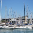 Yacht port in Barcelona — Stock Photo