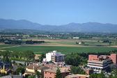 Summer landscape near Figueres — Stock Photo