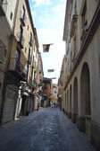 Street in Figueras, Catalonia — Stockfoto