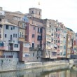 Houses over Onyar River in Girona. — Stock Photo #37439823