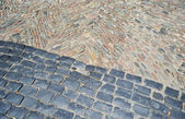 Paving stone, Girona — Stock Photo
