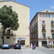 Street in center of Girona — Stock Photo
