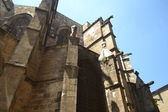 Gothic Barcelona Cathedral — Stock Photo