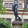 Statue of Johann Wolfgang Goein Leipzig. — Stock Photo #37875683