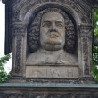 Monument to Johann SebastiBach in Leipzig — Stock Photo #37875687