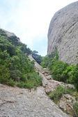 Summer landscape in Montserrat Mountain — Stock Photo