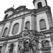 Stock Photo: Jesuit Church in Lucerne