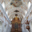 Stock Photo: Jesuit Catholic church inside