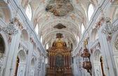 église catholique jésuite à l'intérieur — Photo