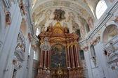 Jesuit Catholic church inside — Stockfoto