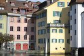 Embankment in Lucerne, Switzerland. — Stock Photo