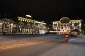 Strada nel centro di Berna di notte — Foto Stock