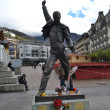 Statue of Freddie Mercury — Stock Photo