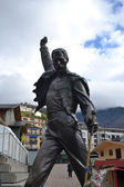 Statue of Freddie Mercury — 图库照片
