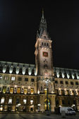 Amburgo rathaus (il municipio) — Foto Stock