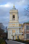 Belfry of Alexander Nevsky Lavra — Stock Photo