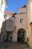 Street in Old Town of Tallinn — Stock Photo