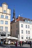 улица в старом городе таллина — Стоковое фото