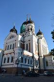 Alexander newski Katedrali Tallinn — Stok fotoğraf