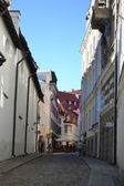 Street in Old Tallinn — Stock Photo